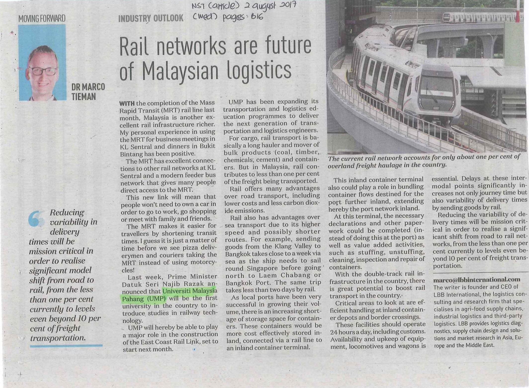 rail-networks-are-future-Malaysian-logistics