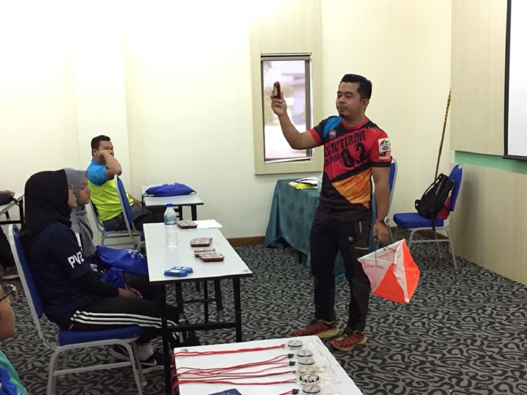 Orienteering Certification Course Provided Exposure to Water Sports Enthusiasts in the country