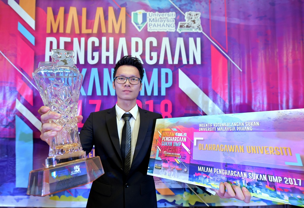 Alex Tiong named UMP Sportsman of the Year