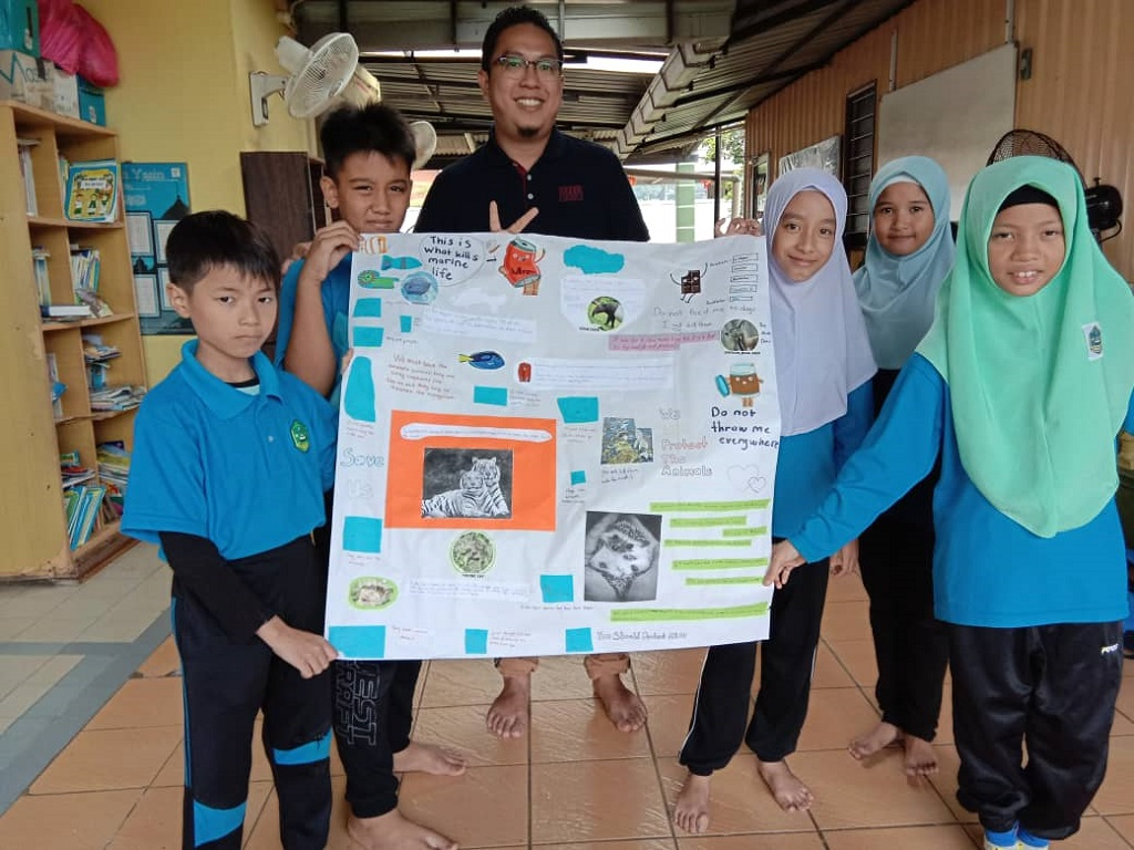 Reach Out Programme with Integrated Islamic School Kuantan 'TOEFL® Young Students Series GO English! Project'