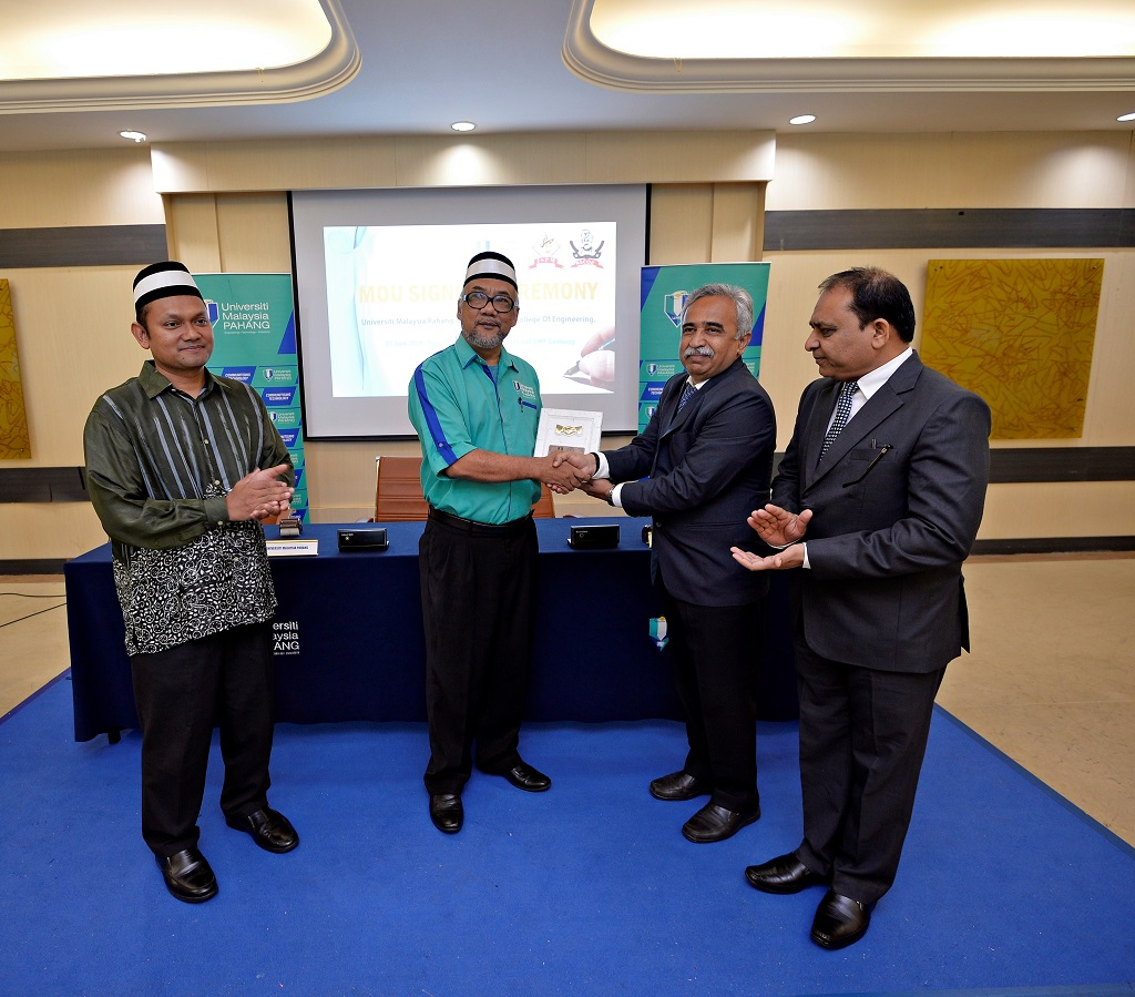 UMP jalin kerjasama dengan Rajarshi Shahu College of Engineering