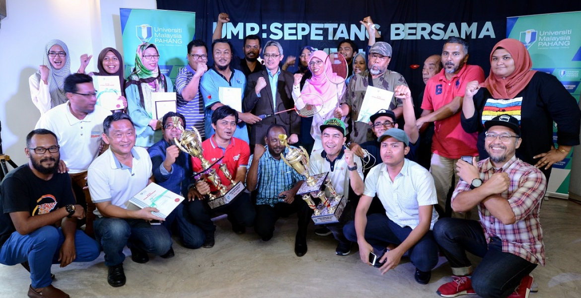 Pahang Media Practitioners feted by UMP
