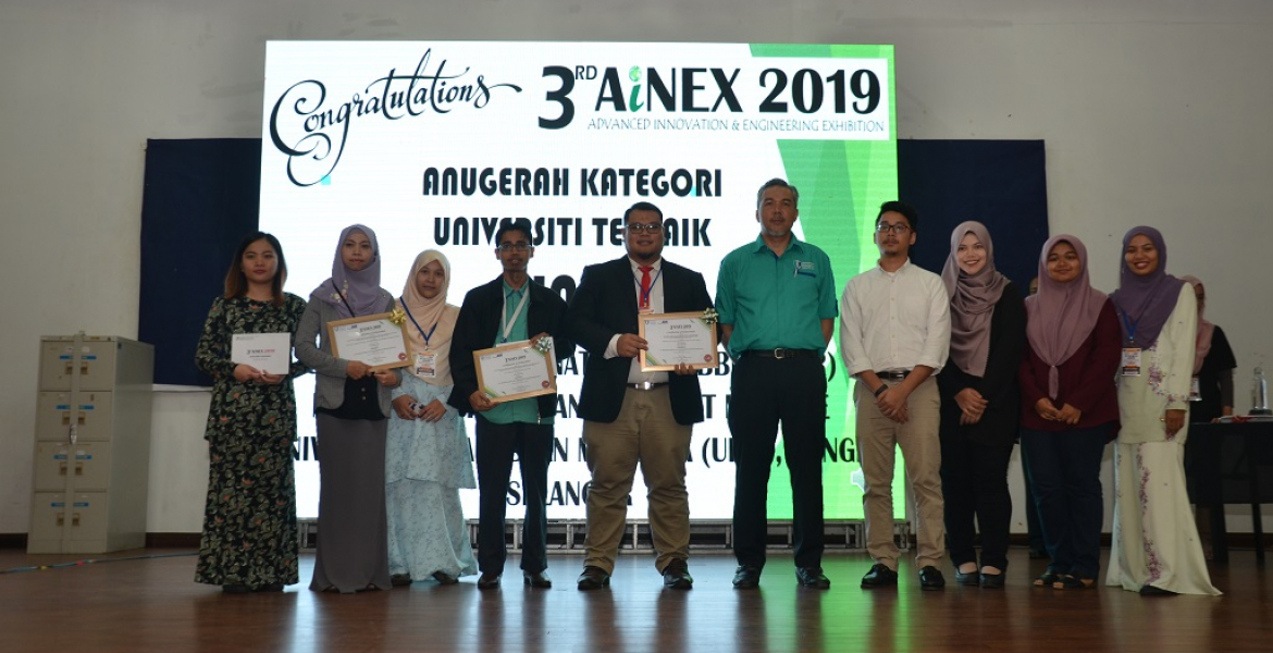 Ainex 2019: UMP's search talent platform for students to invent or innovate cost-effective and eco-friendly products