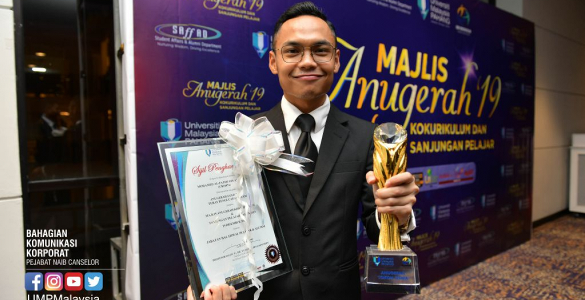 Mohamed Al-Fateh clinches Tokoh Siswa UMP 2019 title