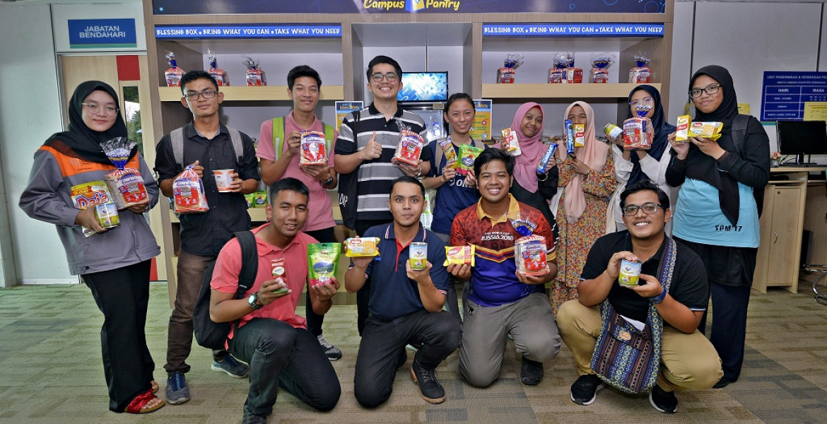 UMP Campus Pantry – free food hub for students