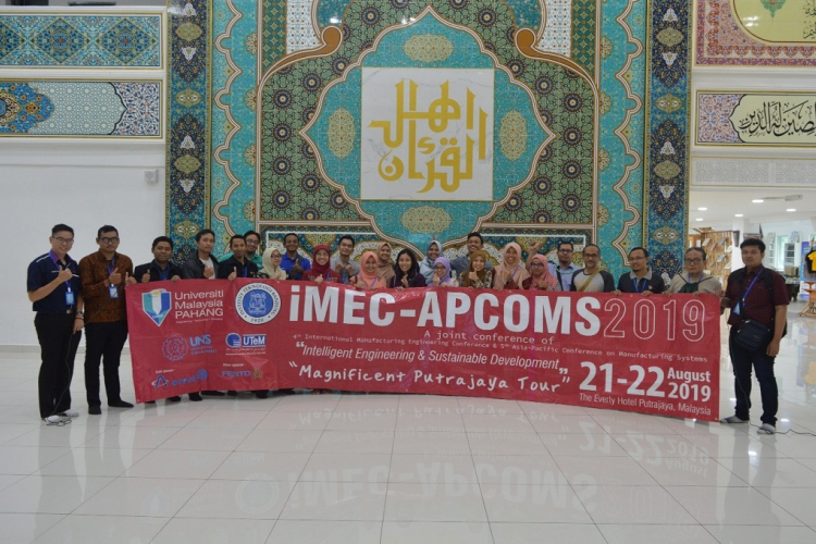 iMEC-APCOMS 2019 the best platform to exhibit industry and manufacturing engineering research product