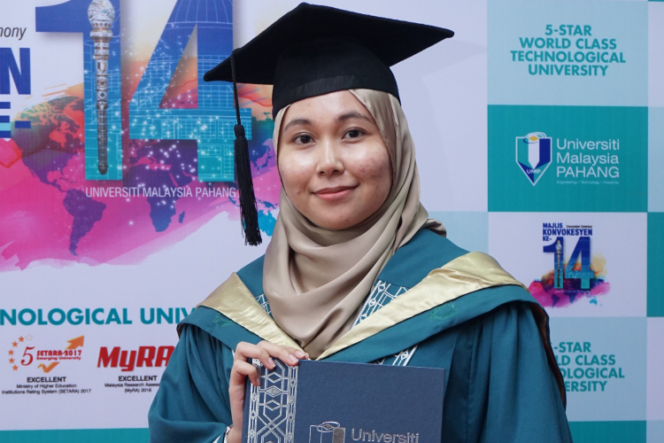 Recipient of 7 Dean's List Awards, Nurul Nadiah receives 2 Excellence Awards
