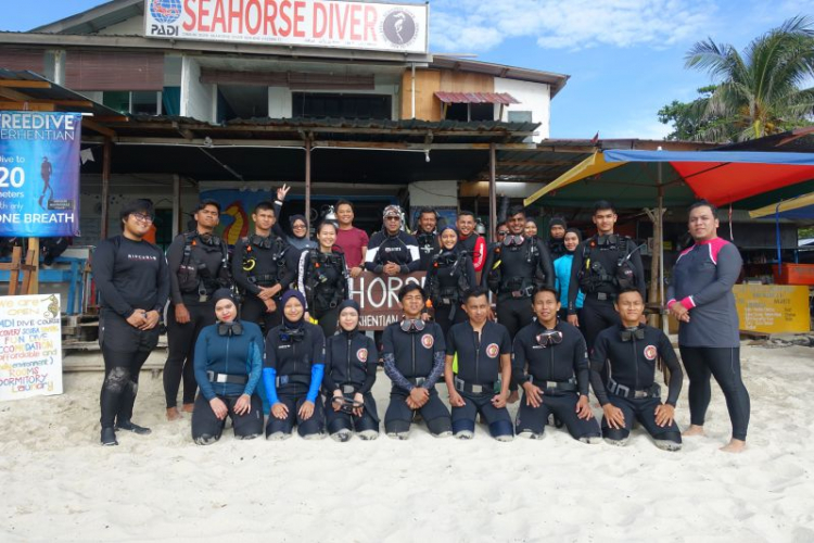 Scuba diving new attraction for UMP students