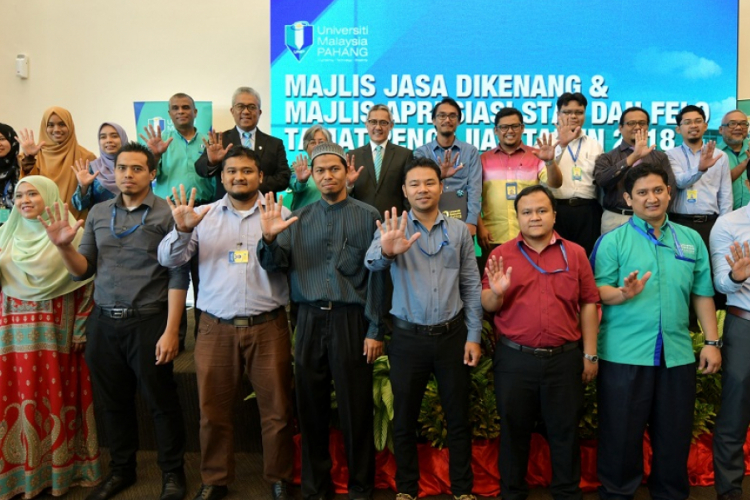 UMP feted staff who completed their studies and the university's retirees