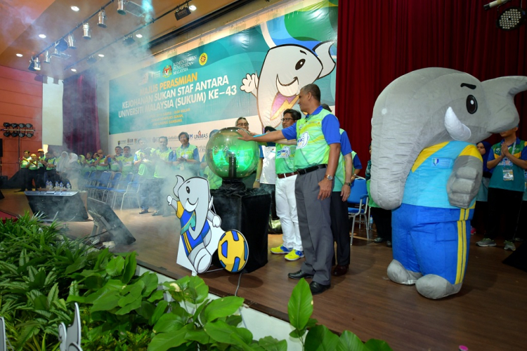 43rd SUKUM Officially Open in Universiti Malaysia Pahang