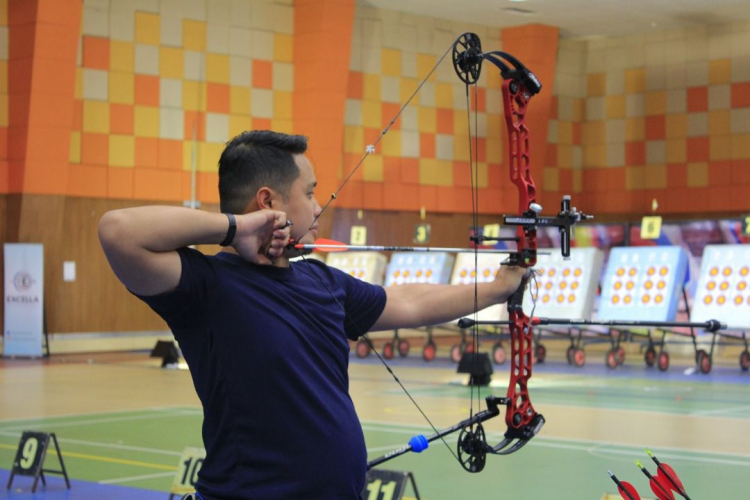 555 athletes converged on UMP–Excella International Indoor Archery Championships 3.0
