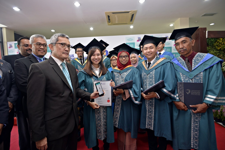 UMP the first public university in the country to use Blockchain Technology for cert validation for its 2,773 graduates