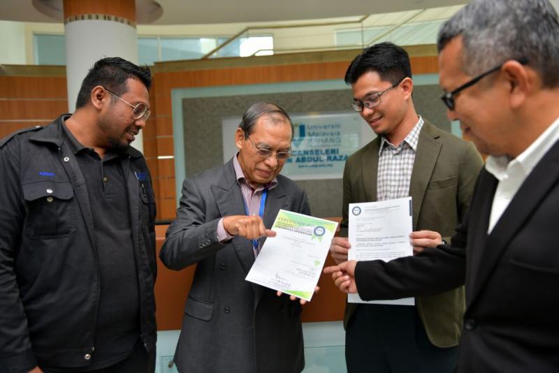 UMP terima pengiktirafan SEDA bagi Kecekapan Tenaga