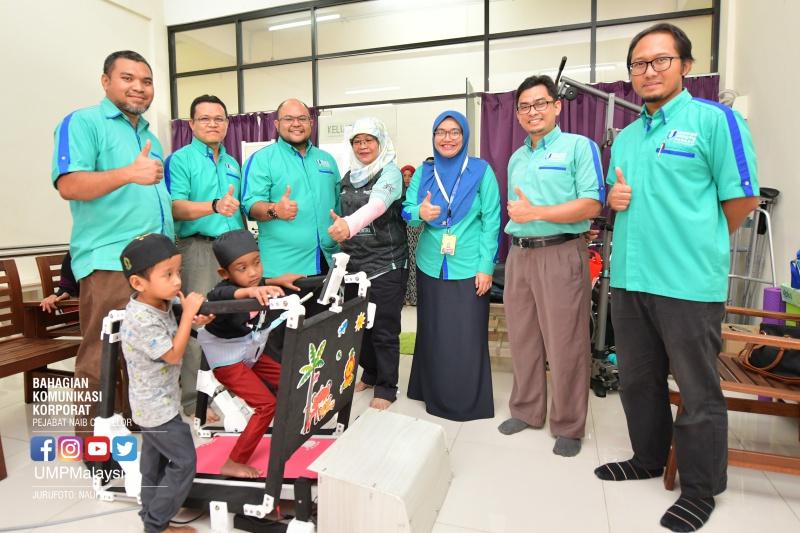PhyMill dicipta khas untuk bantu juruterapi dan pesakit kanak-kanak jalani rawatan fisioterapi