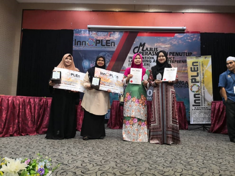 UMP language teachers won three gold medals and a silver medal at INNOPLEN 2019