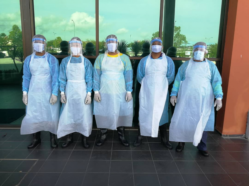 UMP Campus Successfully Disinfected and Welcomes Its Workforce