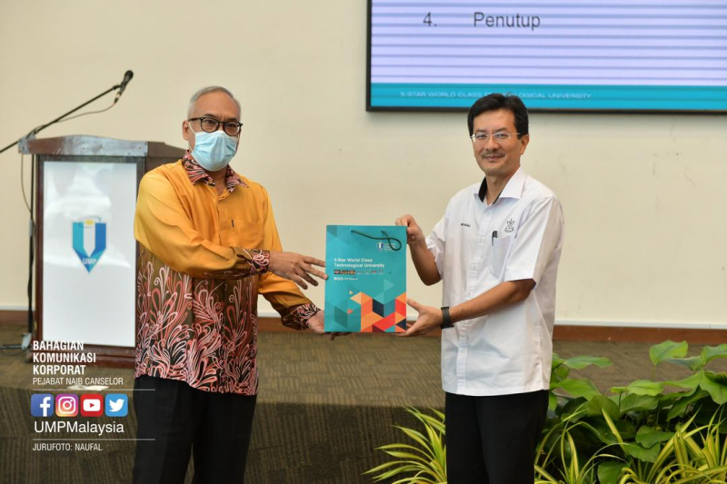 UMP and Pahang State plan to discuss research achievement