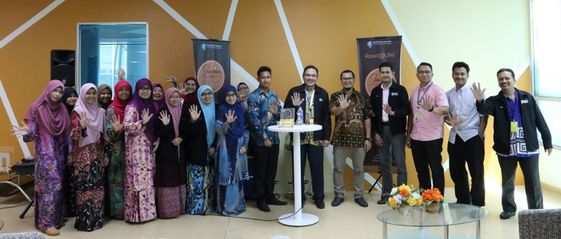 Book review on tahfiz education and soft skills by Dr. Rashidi Abbas in Sharing@BookCafe programme
