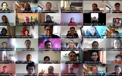 150 pelajar dual ijazah UMP bertemu secara maya