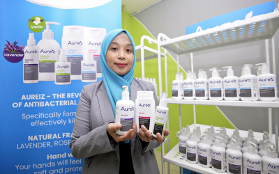 Ts. Dr. Norashikin produces safe Aureiz brand personal care and hygiene products