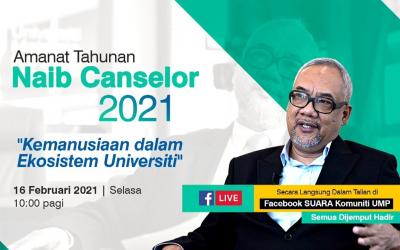 Amanat Naib Canselor UMP 2021