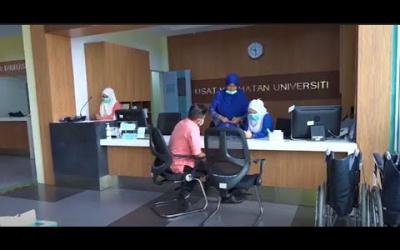 Nasihat Pengarah Pusat Kesihatan UMP, Dr. Khairul Salleh Abdul Basit buat pelajar kembali ke kampus