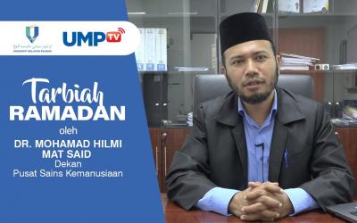 Tarbiah Ramadan Oleh Dr. Mohamad Hilmi Mat Said