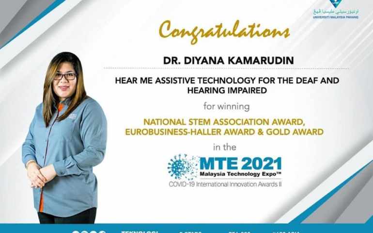 Dr. Diyana creates Hear Me app to assist students with special needs