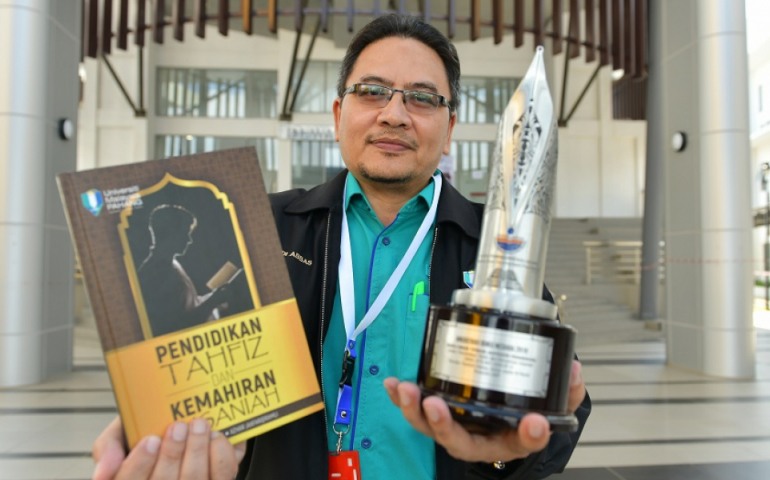 UMP's book on tahfiz education and soft skill won award at the National Book Award 2019