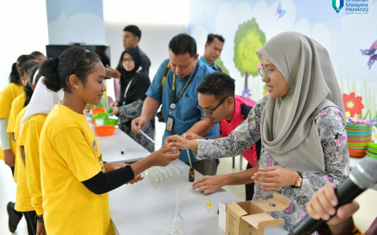 Empower Edu-Tour motivates 117 Orang Asli kids in Science and Mathematics
