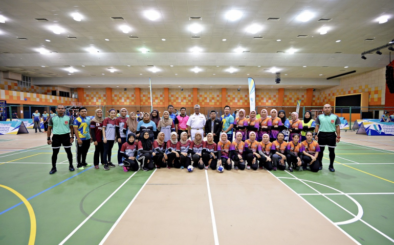 Stiff competition for 52 teams vying to be the best in the game of handball organised by UMP