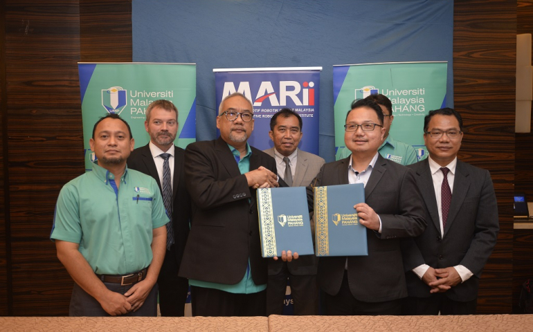 MARii AND UMP INK MoU TO EXPAND TECHNOLOGY EXPERTISE THROUGH NEW ACADEMIC PROGRAMMES