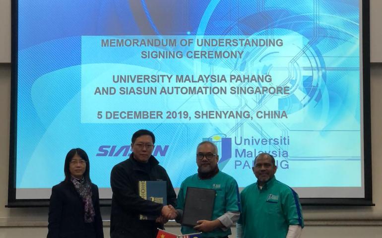 UMP, SIASUN seal strategic collaboration in robotic and smart services development