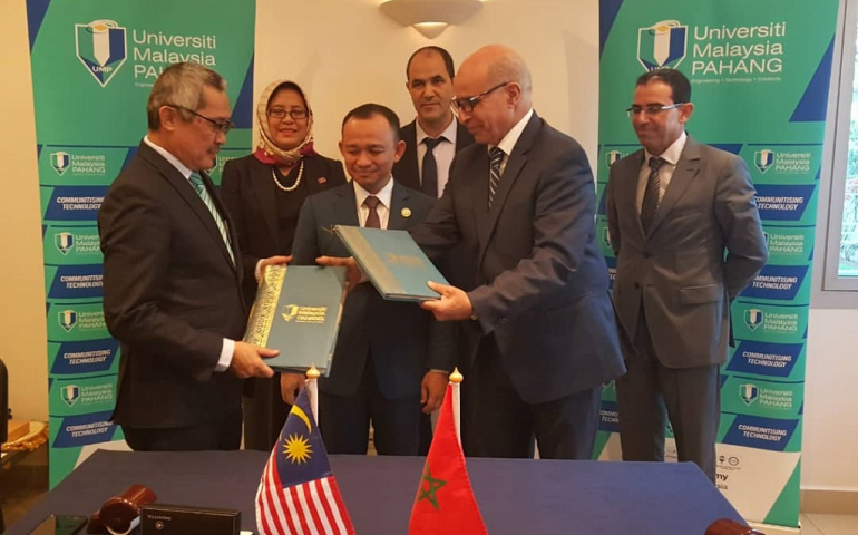 MOU signed between UMP and Hassan II University of Casablanca